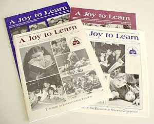 Joy to Learn magazines